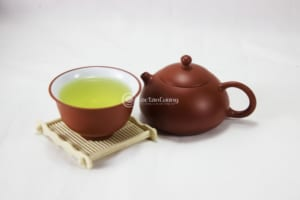 cách pha trà thái nguyên này giúp chén trà có màu sắc mát dịu, tròn hương, đậm vị