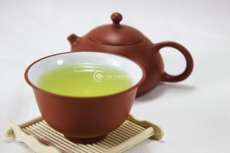 trà thái nguyên ngon với màu cốm tự nhiên