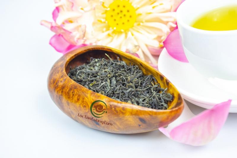 trà thái nguyên ướp với sen tạo nên một kiệt tác nghệ thuật trà